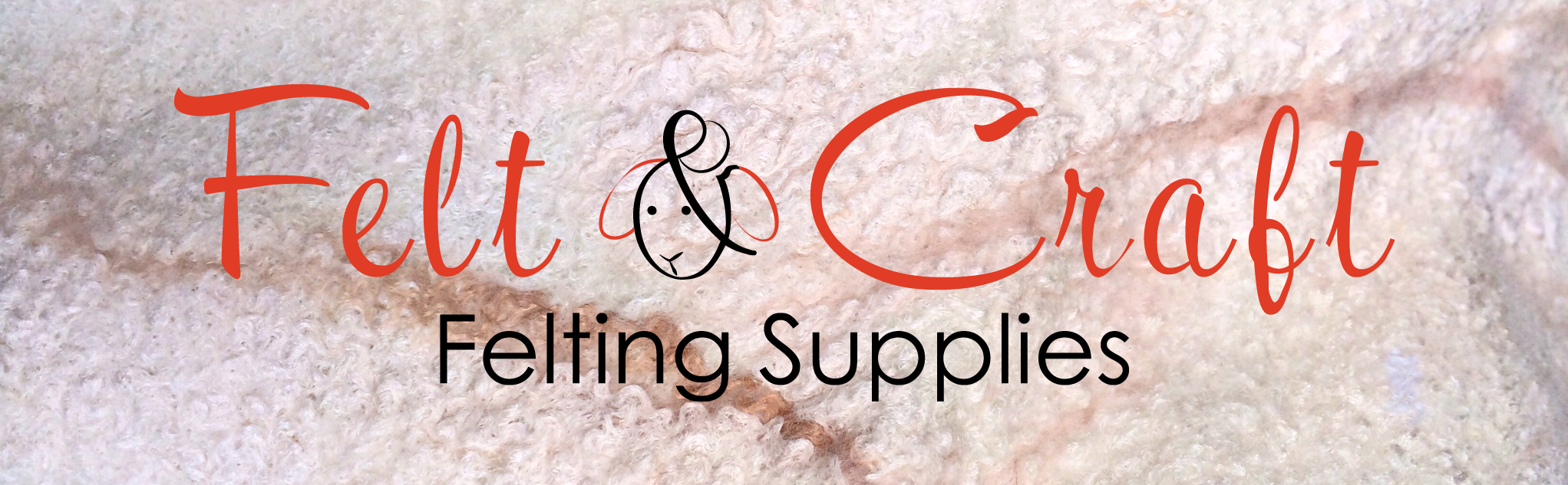 FELT & CRAFT felting supplies